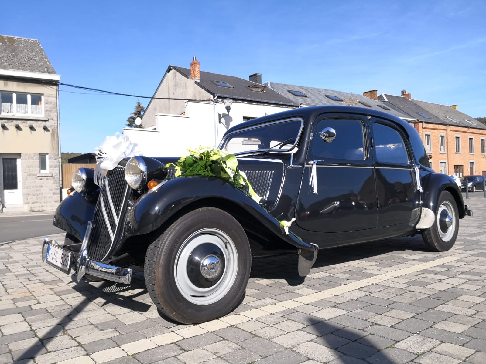 Traction Avant ceremoniewagen huren voor event